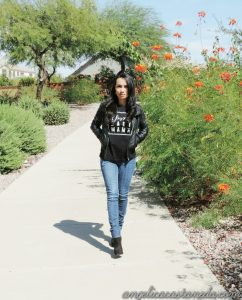 How to style a black tee