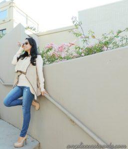 Fall blush attire