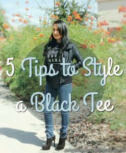 How to style a black tip